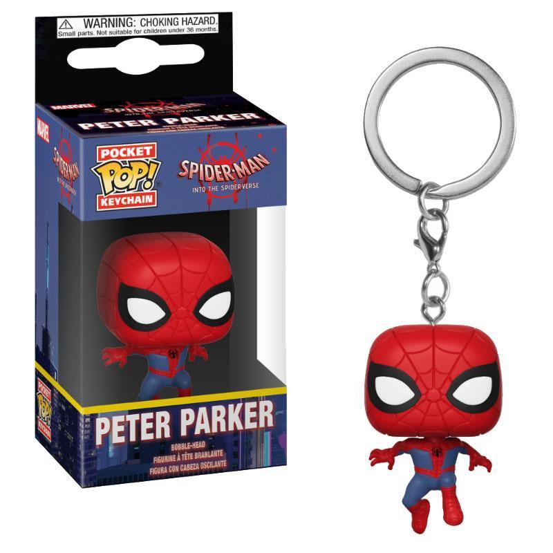 SPIDER-MAN - Pocket Pop Keychains - Animated Spider-Man - 4cm