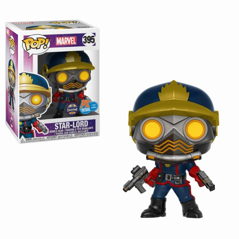 MARVEL - Bobble Head POP N° 395 - Classic Star-Lord LIMITED