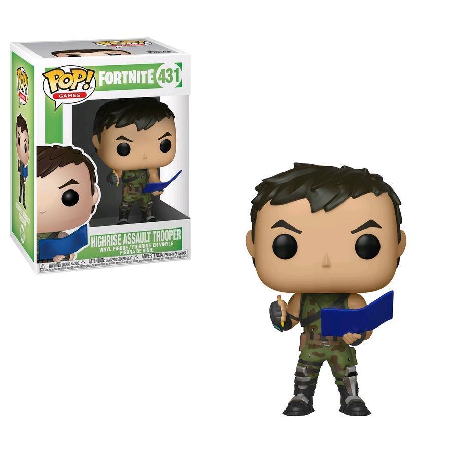 FORTNITE - Bobble Head POP N° 431 - Highrise Assault Trooper