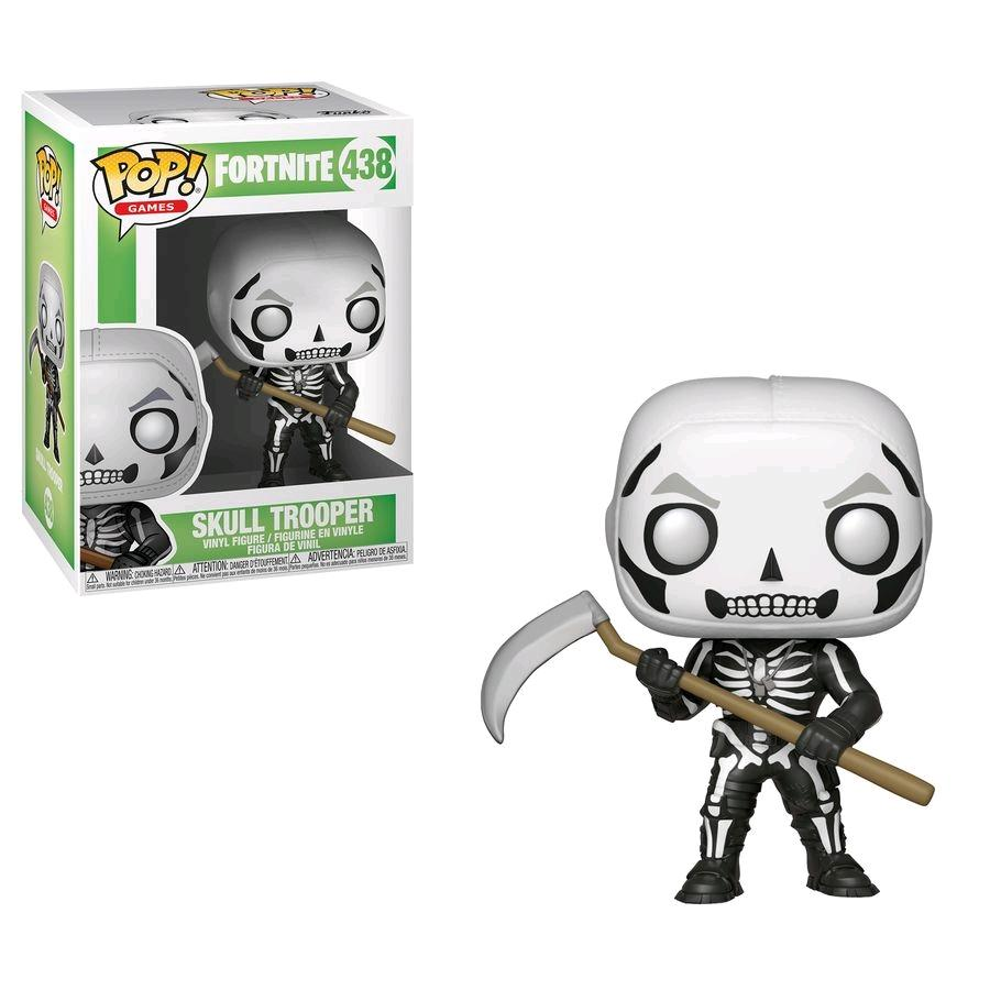 FORTNITE - Bobble Head POP N° 438 - Skull Trooper