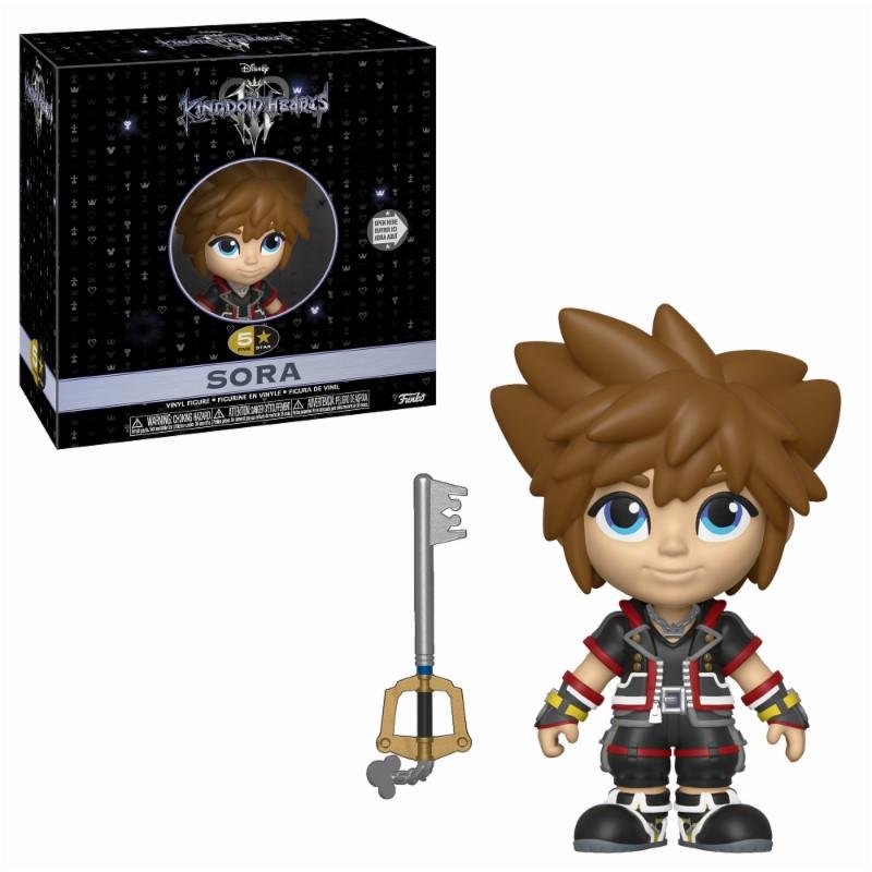 DISNEY - 5 Star Vinyl Figure 8 cm - Kingdom of Hearts 3 - Sora