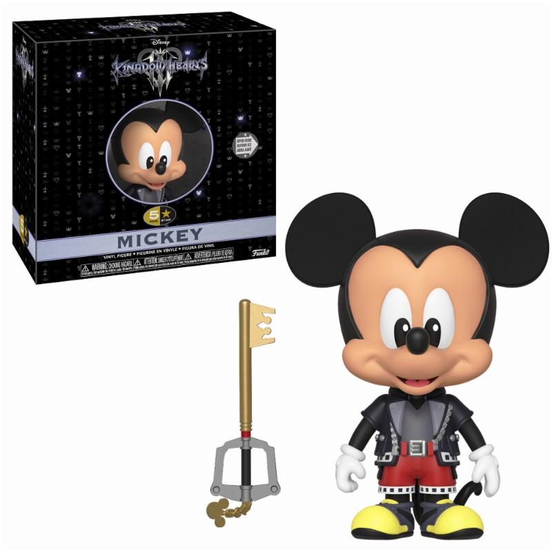 DISNEY - 5 Star Vinyl Figure 8 cm - Kingdom of Hearts 3 - Mickey