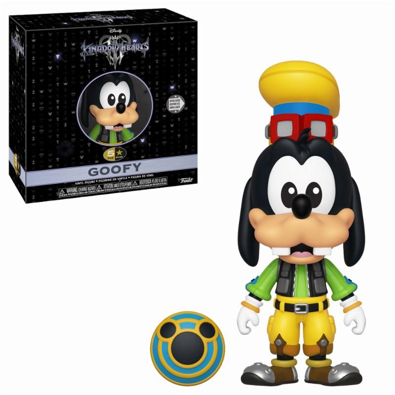 DISNEY - 5 Star Vinyl Figure 8 cm - Kingdom of Hearts 3 - Goofy