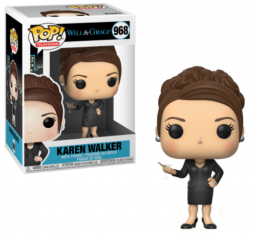 WILL & GRACE - Bobble Head POP N° 968 - Karen Walker