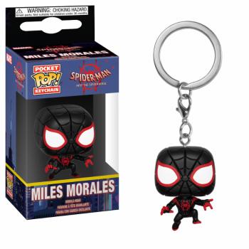 Pocket Pop Keychains : Animated Spiderman - Miles Morales