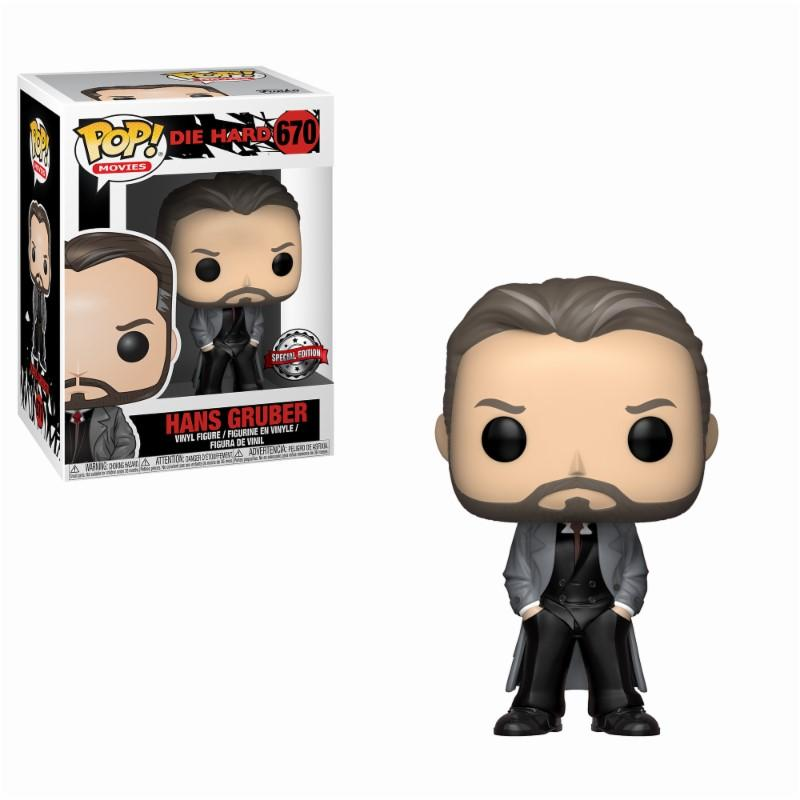 DIE HARD - Bobble Head POP N° 670 - Hans Gruber LIMITED_1