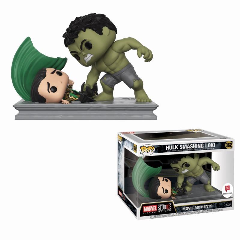 MARVEL - Movie Moments Pop N° 362 - Hulk Smashing Loki LIMITED