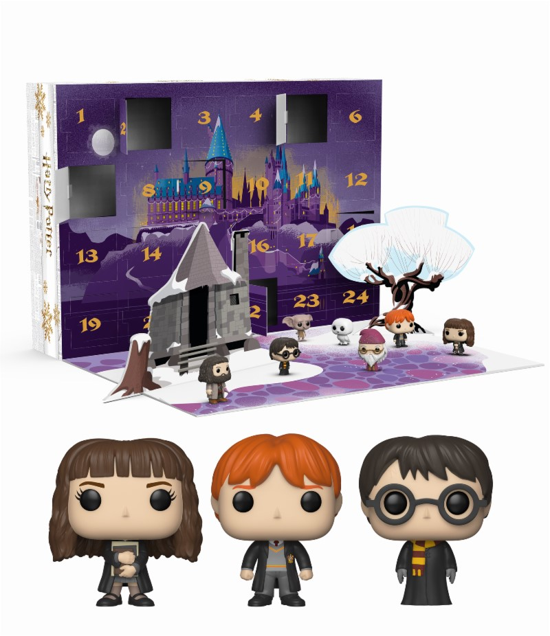 Calendrier Avent Geek.Shopforgeek Harry Potter Pocket Pop Calendrier De L