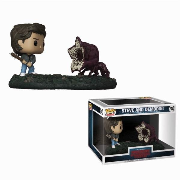 STRANGER THINGS - Movie Moments Pop N° 728 - Steve vs Demodog