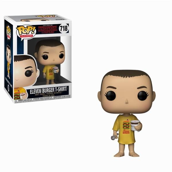 STRANGER THINGS - Bobble Head POP N° 718 - Eleven Burger T-Shirt
