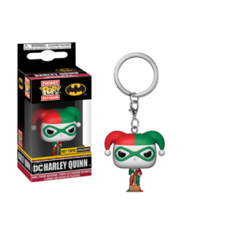 Pocket Pop Keychains : DC - Harley Quinn - Holiday - Limited