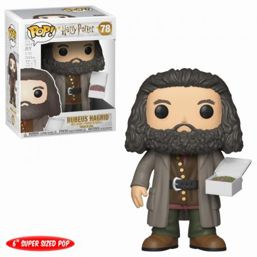 HARRY POTTER - Bobble Head POP N° 78 - Hagrid with Cake (OVERSIZE)