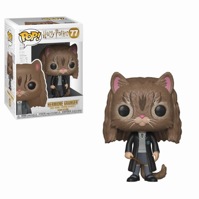 HARRY POTTER - Bobble Head POP N° 77 - Hermione as Cat_1