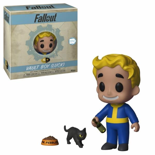 FALLOUT - 5 Star Vinyl Figure 8 cm - Luck Vault Boy