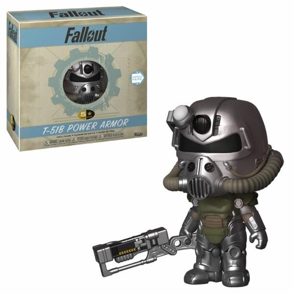 FALLOUT - 5 Star Vinyl Figure 8 cm - T-51 Power Armor