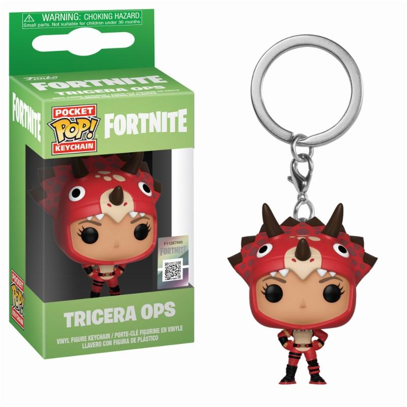 Pocket Pop Keychains : FORTNITE - Tricera Ops