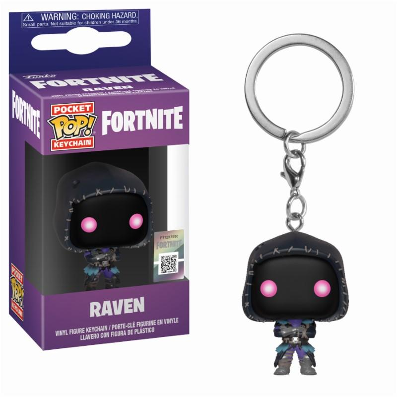 Pocket Pop Keychains : FORTNITE - Raven
