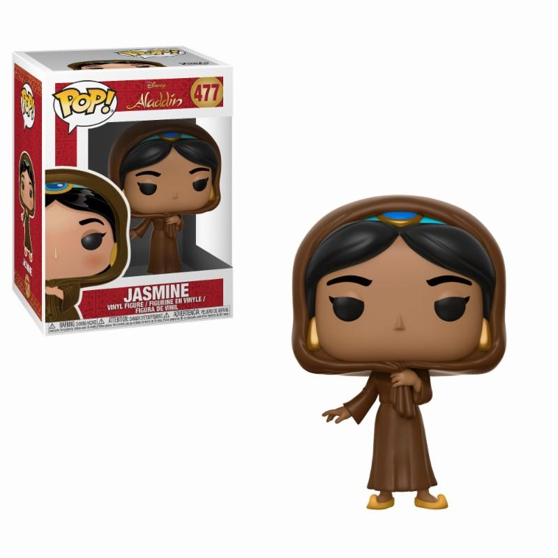 DISNEY - Bobble Head POP N° 477 - Aladdin : Jasmine in Disguise