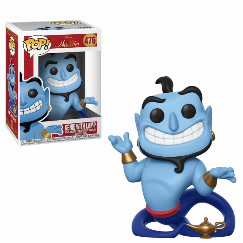 DISNEY - Bobble Head POP N° 476 - Aladdin : Genie with Lamp