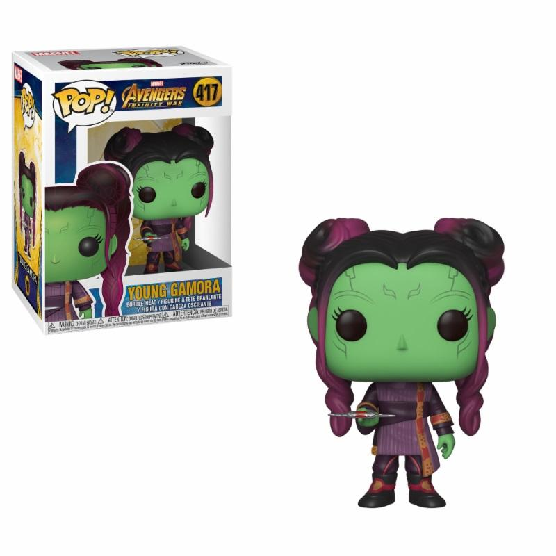 AVENGERS INFINITY WAR - Bobble Head POP N° 417 - Young Gamora