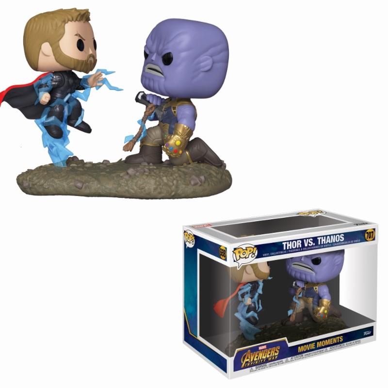 MARVEL - Movie Moments Pop N° 707 - Avengers IW - Thor Vs Thanos