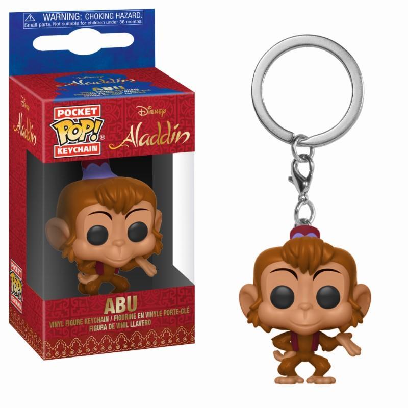 DISNEY - Pocket Pop Keychains : Aladdin - Abu