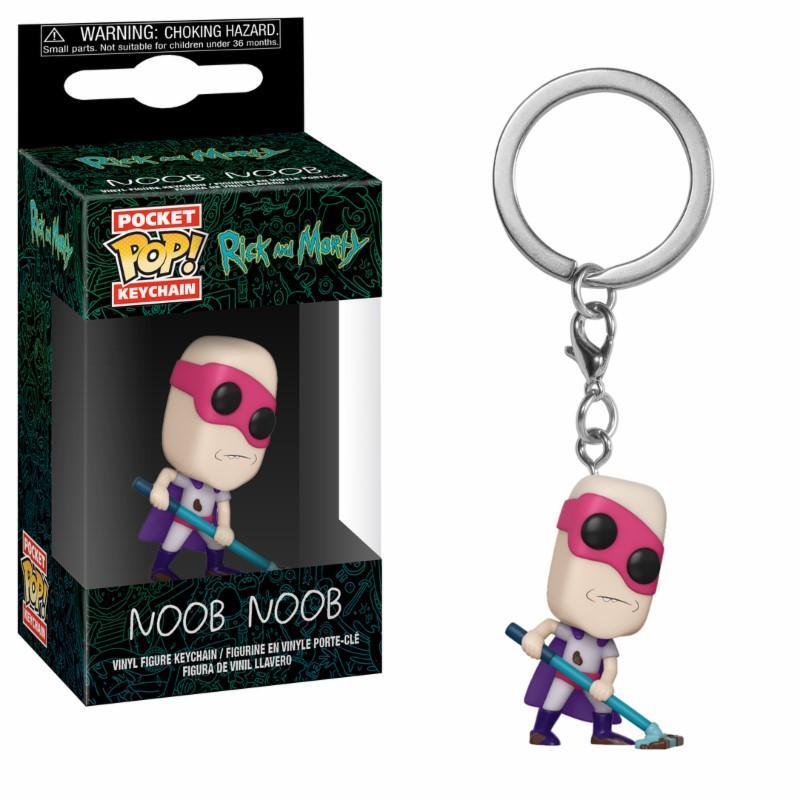 RICK & MORTY - Pocket Pop Keychains : Noob Noob