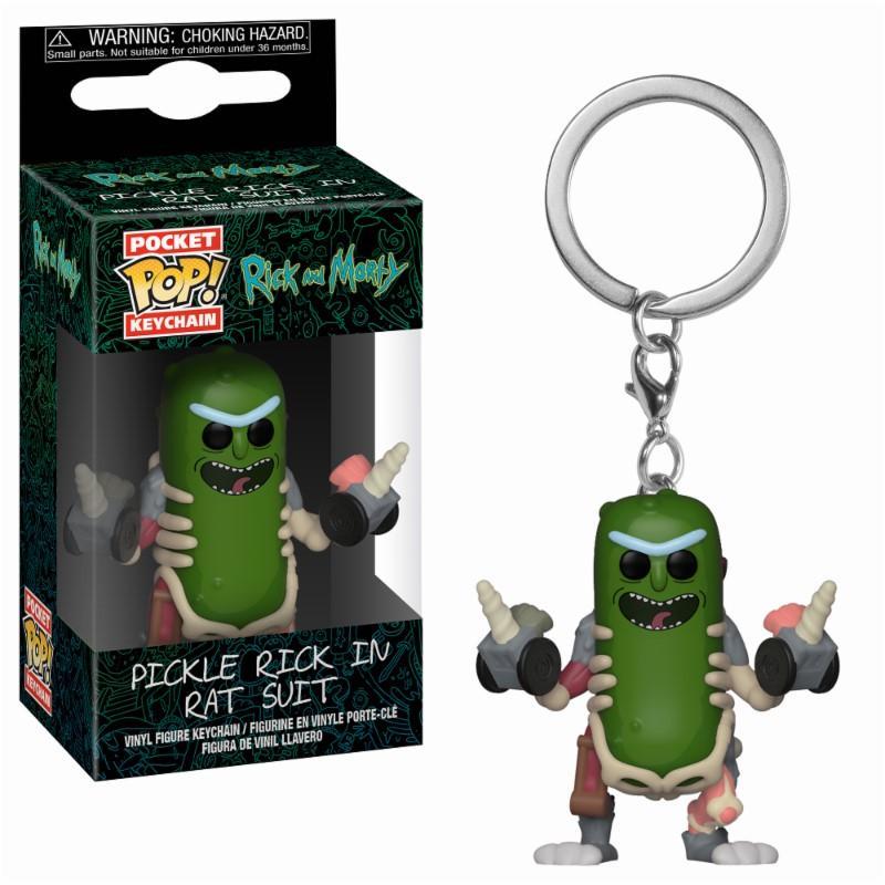 RICK & MORTY - Pocket Pop Keychains : Rick in Rat Suit