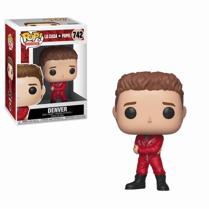 LA CASA DE PAPEL - Bobble Head POP N° 742 - Denver