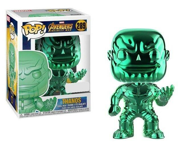 AVENGERS INFINITY WAR - Bobble Head POP N° 289 - Thanos LIMITED