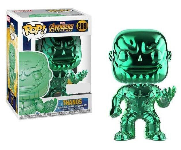 AVENGERS INFINITY WAR - Bobble Head POP N° 289 - Thanos LIMITED