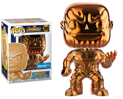 AVENGERS - Bobble Head POP N° 289 - Thanos Orange Chrome S.EDIT._1