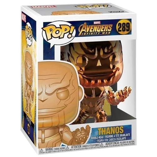 AVENGERS - Bobble Head POP N° 289 - Thanos Orange Chrome S.EDIT._2