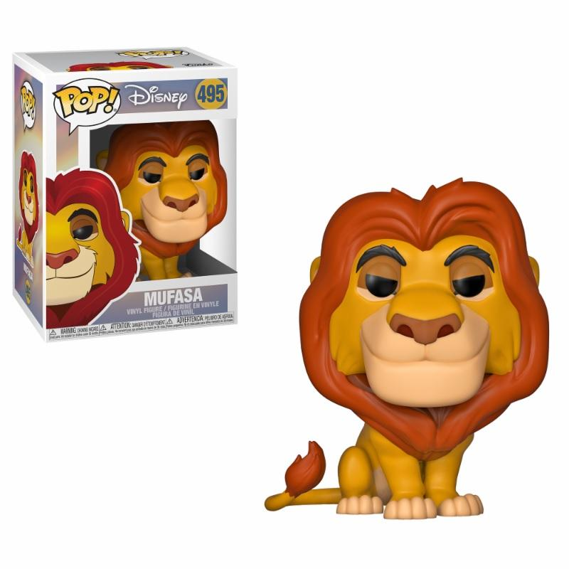 LE ROI LION - Bobble Head POP N° 495 - Mufasa