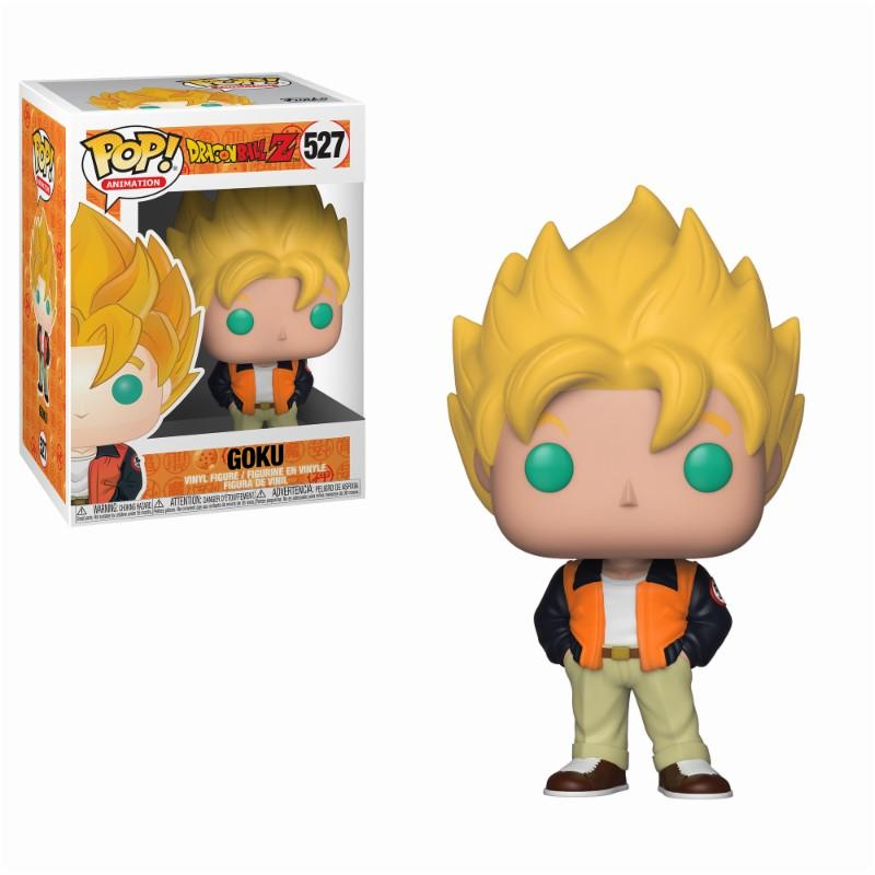 DRAGON BALL Z - Bobble Head POP N° 527 - Casual Goku