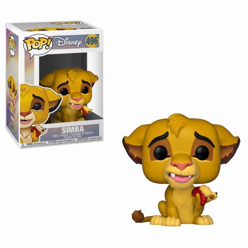 LE ROI LION - Bobble Head POP N° 496 - Simba