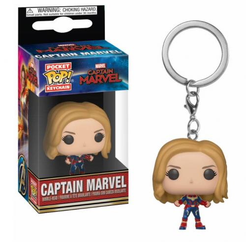 MARVEL - Pocket Pop Keychains - Captain Marvel - 4cm