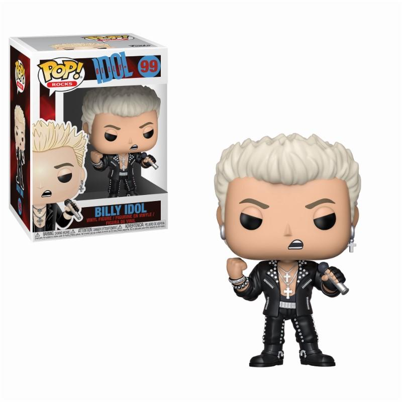 ROCK - Bobble Head POP N° 99 - Billy Idol