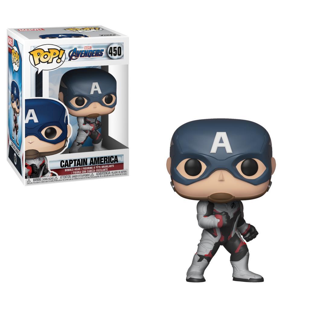 AVENGERS ENDGAME - Bobble Head POP N° 450 - Captain America