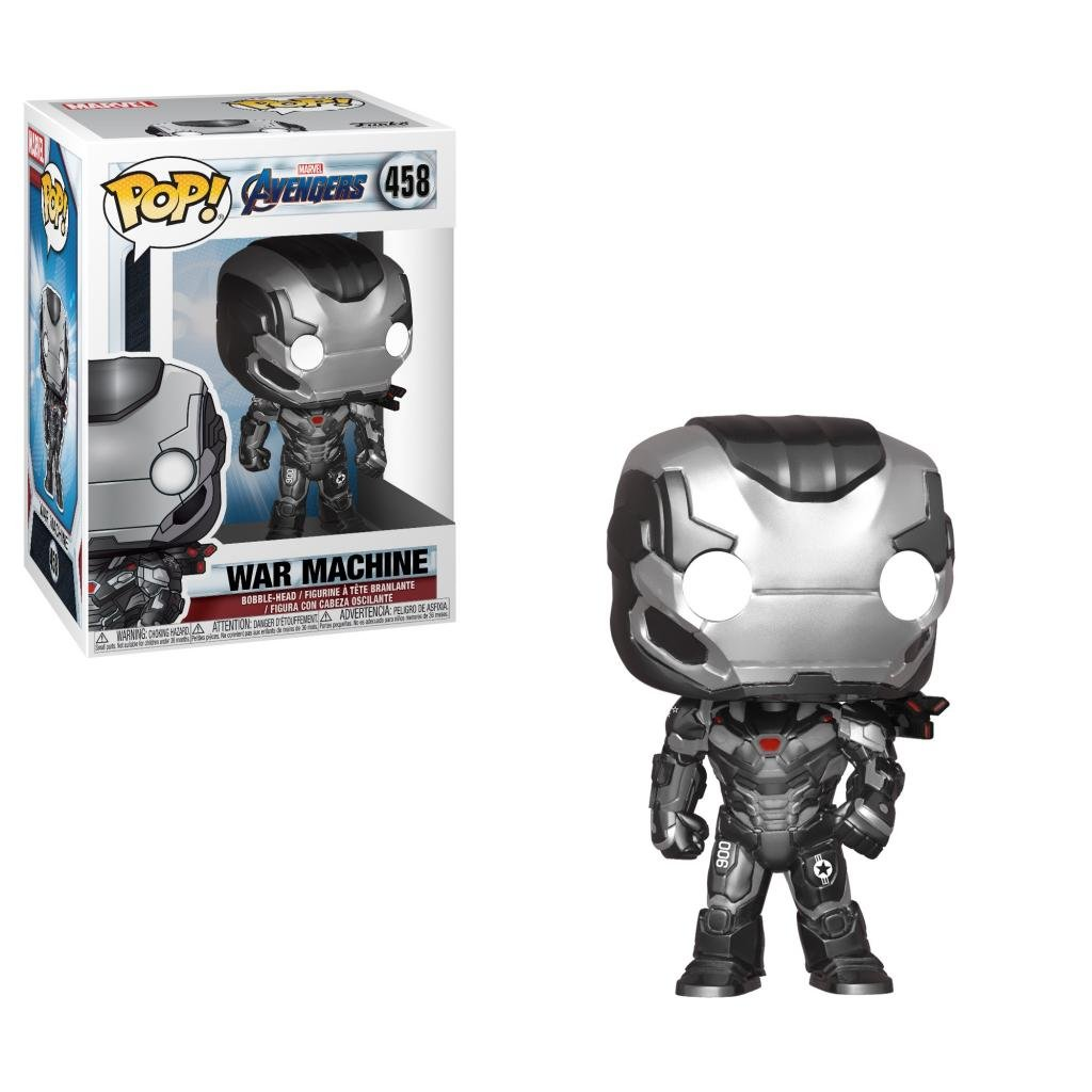 AVENGERS ENDGAME - Bobble Head POP N° 458 - War Machine