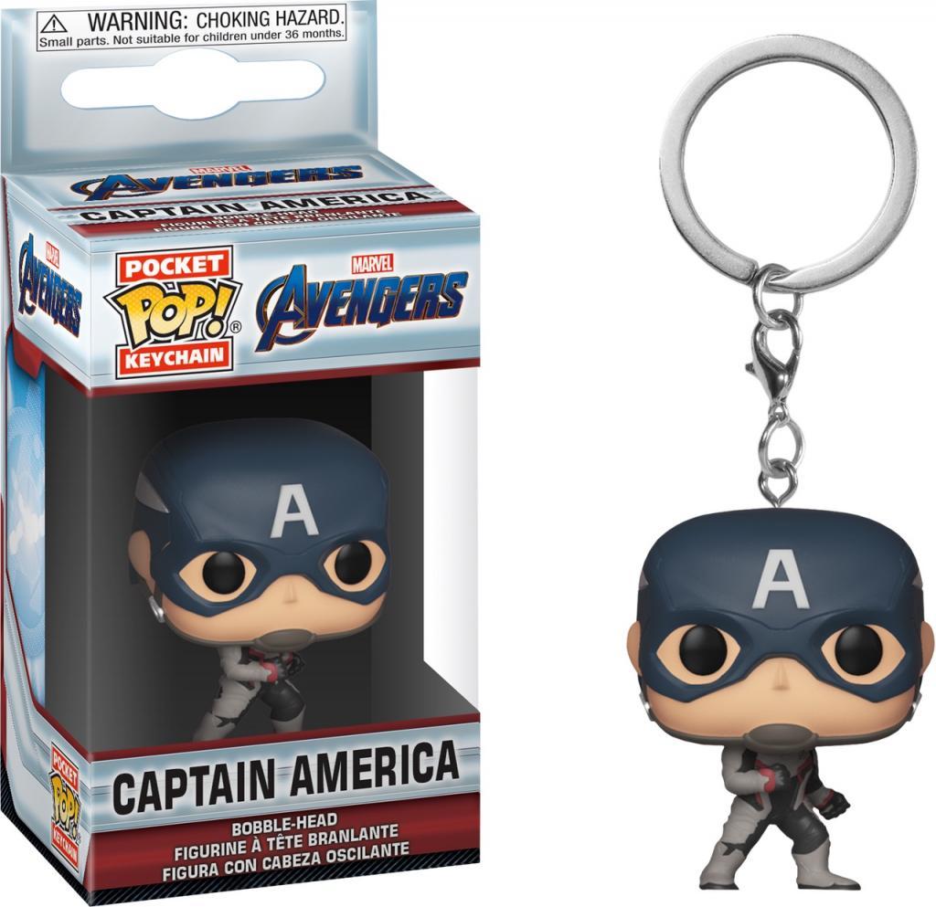 Pocket Pop Keychains : AVENGERS ENDGAME - Captain America
