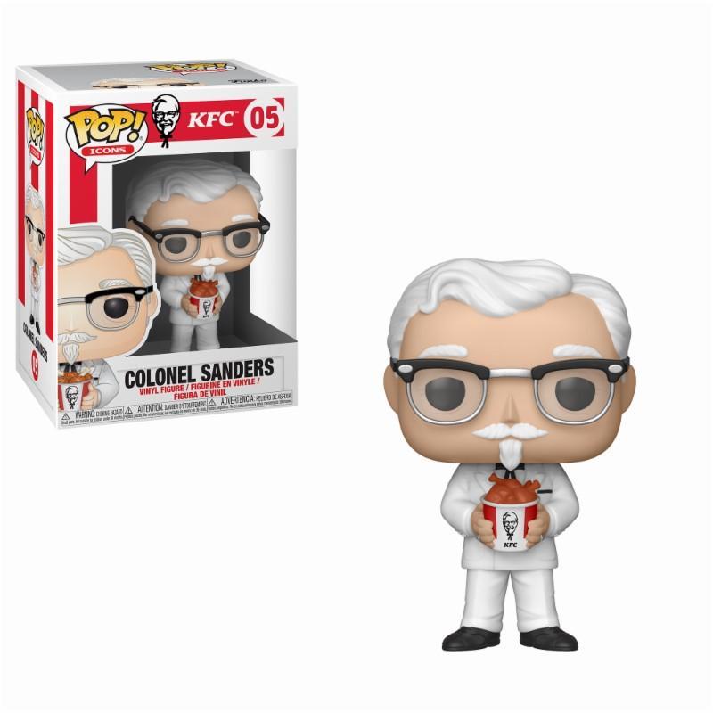 AD ICON - Bobble Head POP N° 05 - KFC - Colonel Sanders