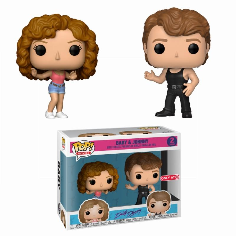 DIRTY DANCING - 2-Pack Bobble Head POP - Johnny & Baby LIMITED