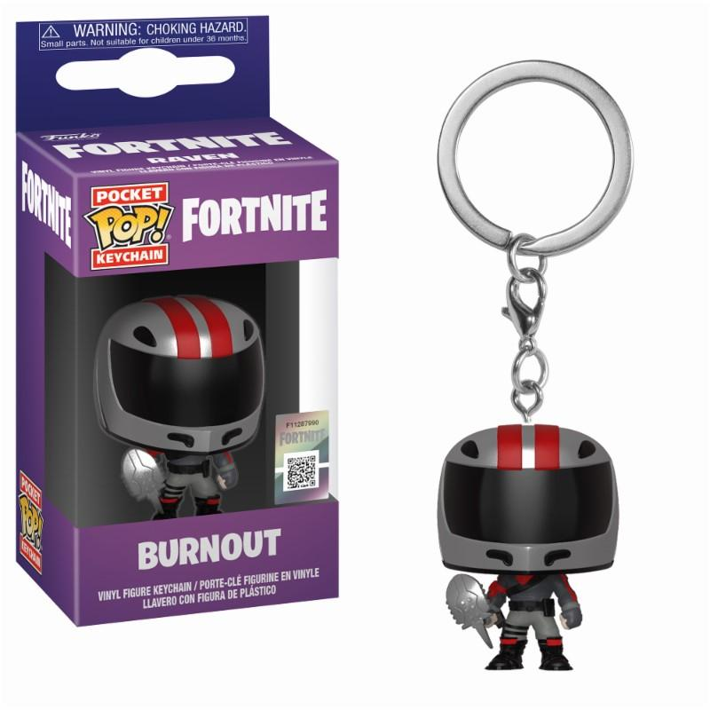 Pocket Pop Keychains : FORTNITE - Burnout