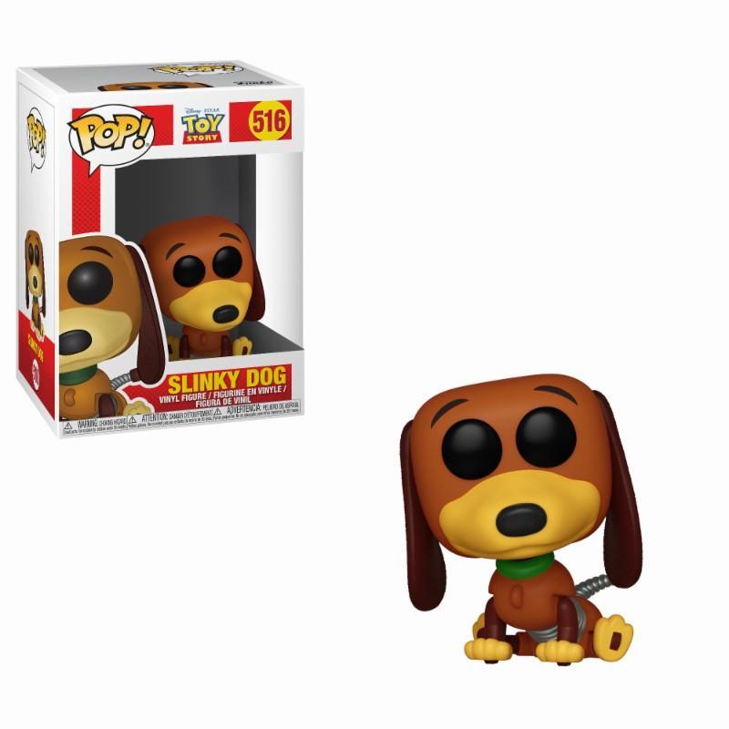 DISNEY - Bobble Head POP N° 516 - Toy Story : Slinky Dog