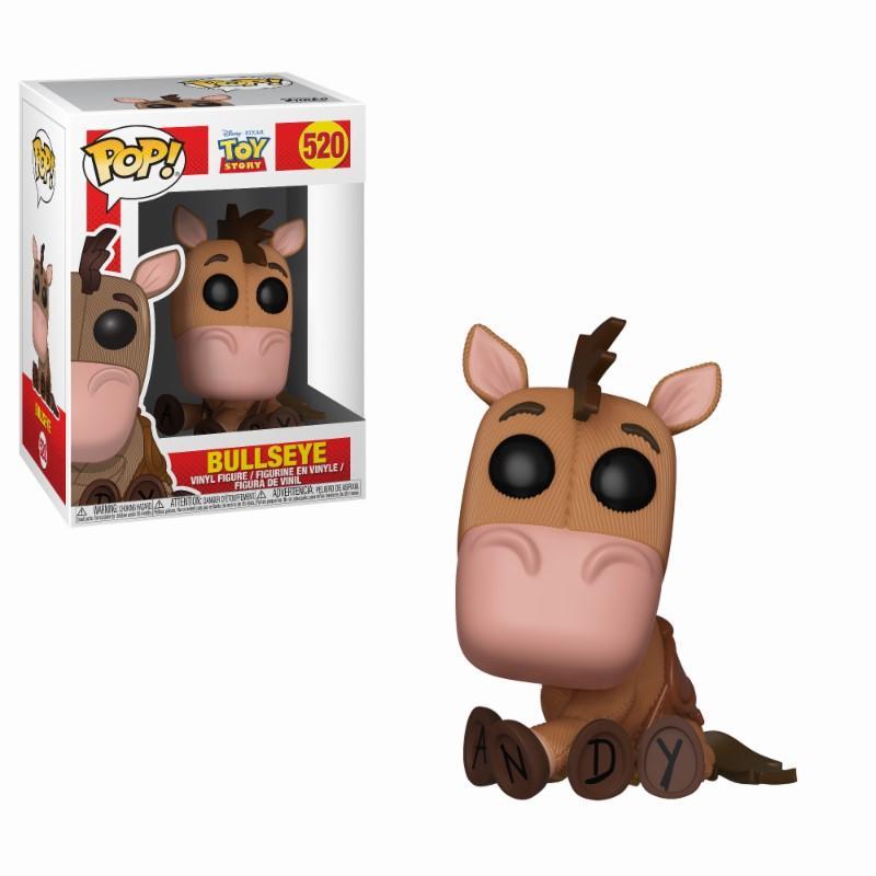 DISNEY - Bobble Head POP N° 520 - Toy Story : Bullseye