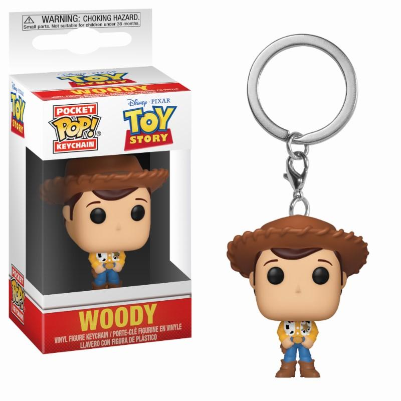 Pocket Pop Keychains : Disney : Woody - Toy Story