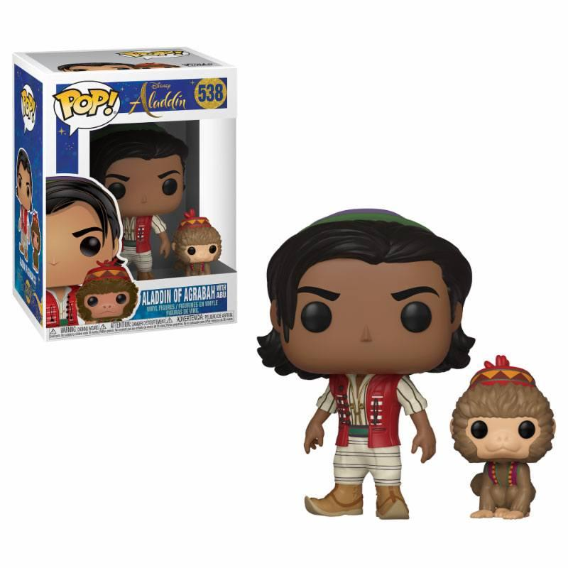 DISNEY - Bobble Head POP N° 538 - Aladdin Live Movie : Aladdin / Abu