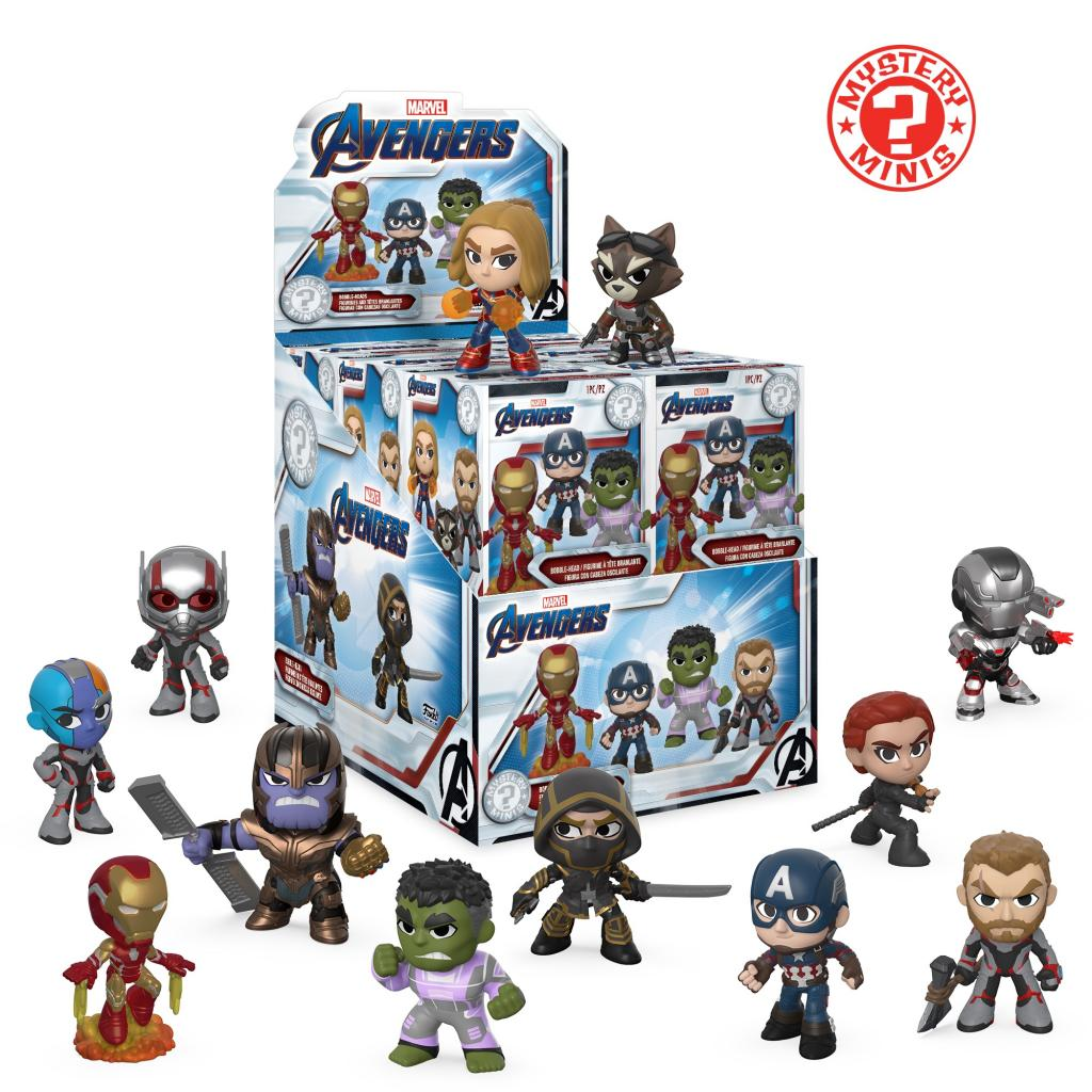 MARVEL - Mystery Minis Avengers Endgame (BOX 12 Figurines)