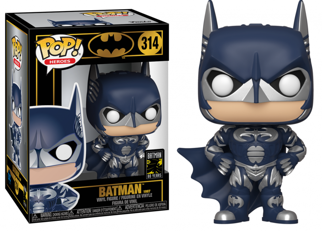 DC COMICS – BOBBLE HEAD POP N° 314 – BATMAN 80TH – BATMAN 1997